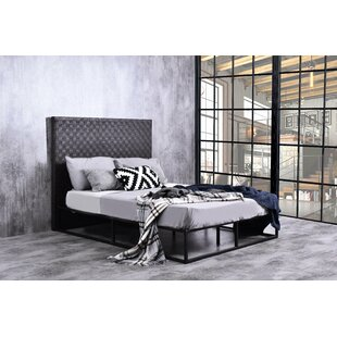 Patrick Weave Queen Upholstered Platform Bed by Union Rustic