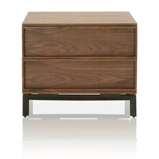 Buy luxury Hendon 2 Drawers Nightstand by Corrigan Studio