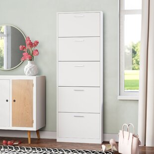 15 Pair Shoe Storage Cabinet By Mercury Row