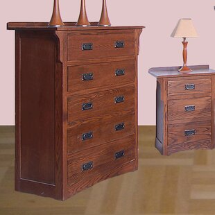 Millwood Pines Aske 5 Drawer Chest Image