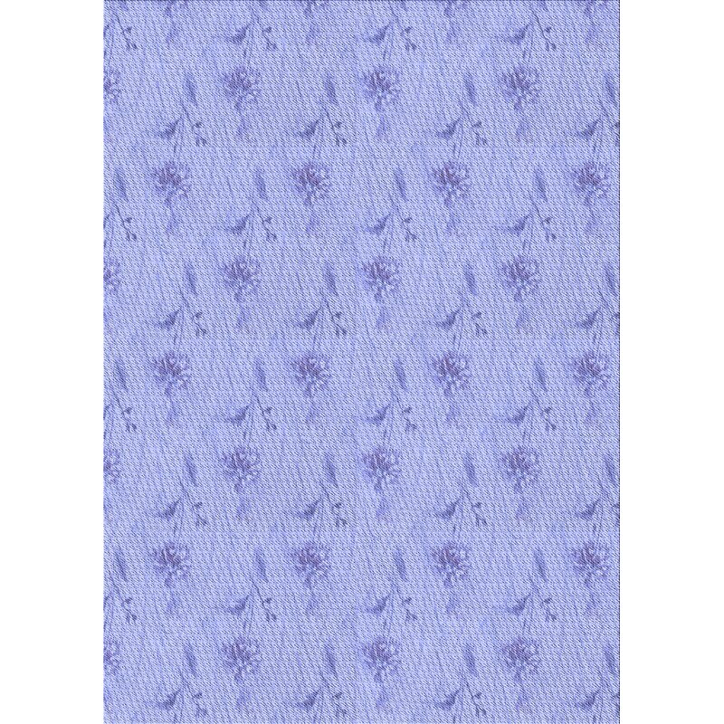 East Urban Home Yates Floral Wool Blue Area Rug Wayfair