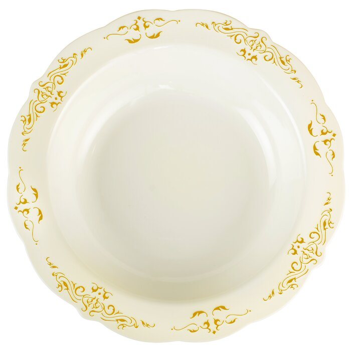 Fineline Settings, Inc Heritage Disposable Soup Bowl & Reviews ...