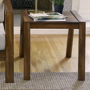 Curren End Table by Charlton Home