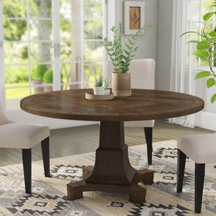 Penelope Solid Wood Dining Table by Laurel Foundry Modern Farmhouse