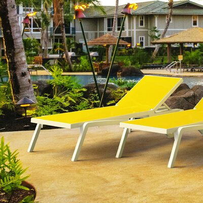 Yellow Outdoor Chaise Amp Lounge Chairs You Ll Love In 2019