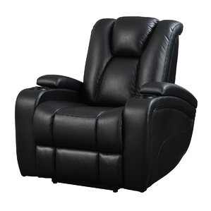 Bissette Motion Power Recliner  sc 1 st  Wayfair : recliner with cup holder and tray - islam-shia.org