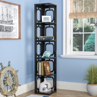 Ardenvor Corner Bookcase by Beachcrest Home Sale
