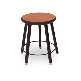 Round Laminate Armor Edge Seat 5 Leg Stool by WB Manufacturing New