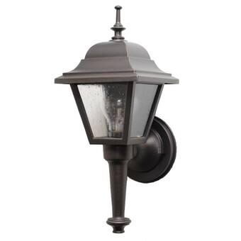 Charlton Home Flannigan 1 Bulb Outdoor Wall Lantern Reviews Wayfair