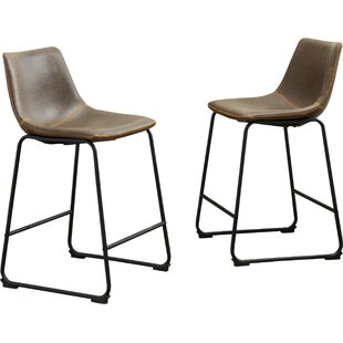Bamey Vintage 24.5 Bar Stool (Set of 2)