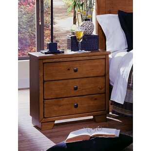 Chinn 3 Drawer Nightstand