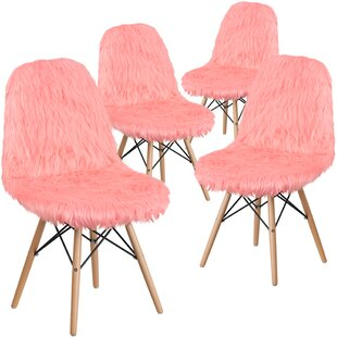 Wrought Studio Alsop Shaggy Dog Side Chair (Set of 4)