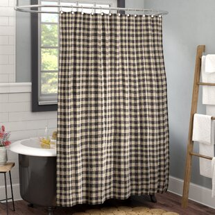 Best Reviews Heidi Cotton Shower Curtain By Laurel Foundry Modern Farmhouse
