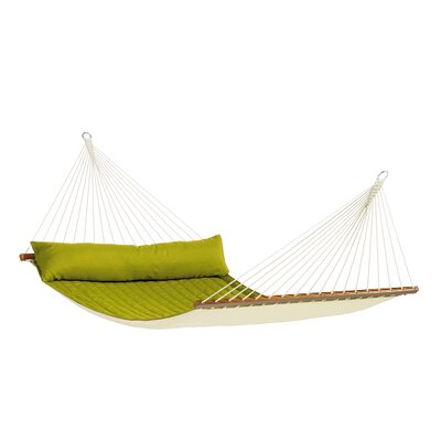 Fleener Weatherproof Kingsize Spreader Bar Rope Olefin Tree Hammock by Gracie Oaks Design