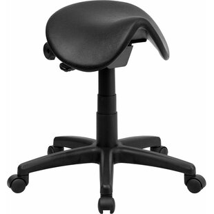 Krull Backless Saddle Height Adjustable Multipurpose Stool