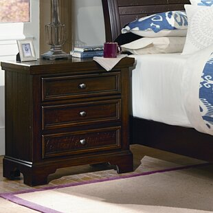 Darby Home Co Courtney 3 Drawer Nightstand