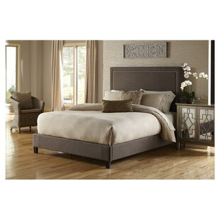 Upholstered Panel Bed by PRI #1