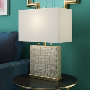 Marelle 21.5 Cotton Shade Table Lamp