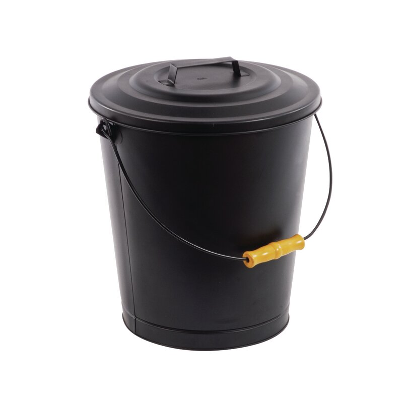 Portable Fireplace Ash Disposal Bin