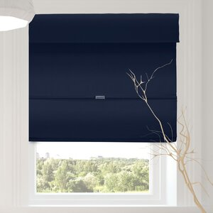 Luxurious Cordless Magnetic Room Darkening Roman Shade