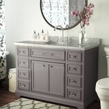 Bergin 48 Single Bathroom Vanity Set by Three Posts