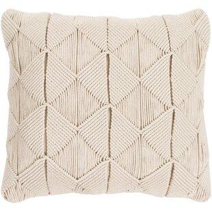 Westerville Sage Natural Fiber Cotton Throw Pillow