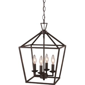 Carmen 4 Light PendantLaurel Foundry Modern Farmhouse Lighting   Wayfair. Farmhouse Lighting Fixtures. Home Design Ideas