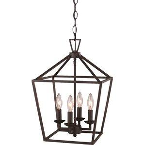 hillmont 4light pendant - Farmhouse Light Fixtures