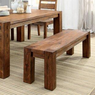 Bethanne Wood Bench by Hokku Designs
