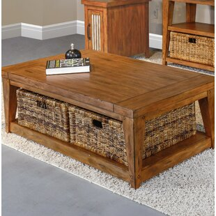 Coffee Table with Storage by Mossy Oak Nativ Living