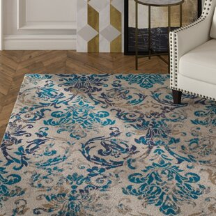 Bromelton Modern Blue Indoor/Outdoor Area Rug