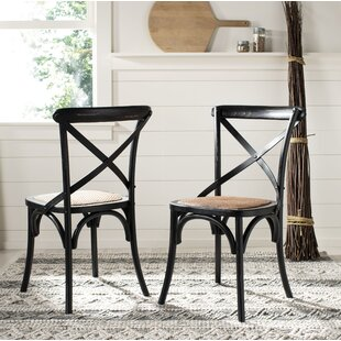 Black Wood Kitchen Dining Chairs You Ll Love Wayfair