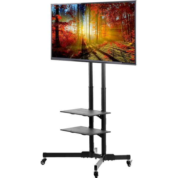 Vivo Tv Av Cart For Lcd Led Plasma Floor Stand Plan Reviews Wayfair