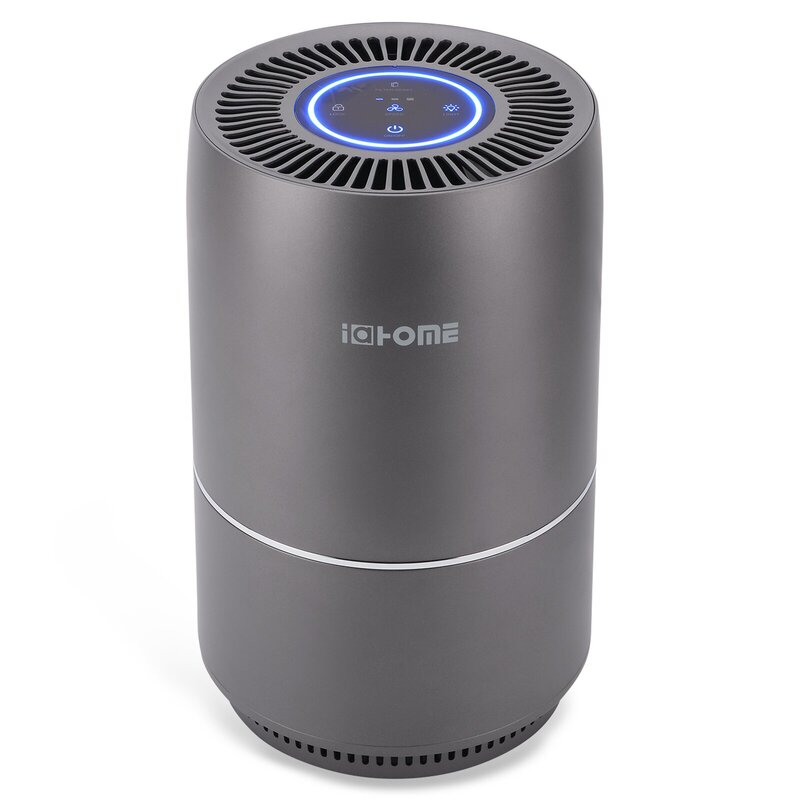 2-Set IAHOME Household Air Purifier with Hepa Filter