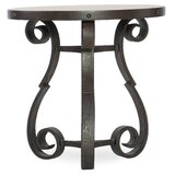 Hill Country Marble Top 3 Legs End Table by Hooker Furniture