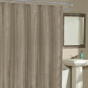 Birch Creek Shower Curtain by Red Barrel Studio