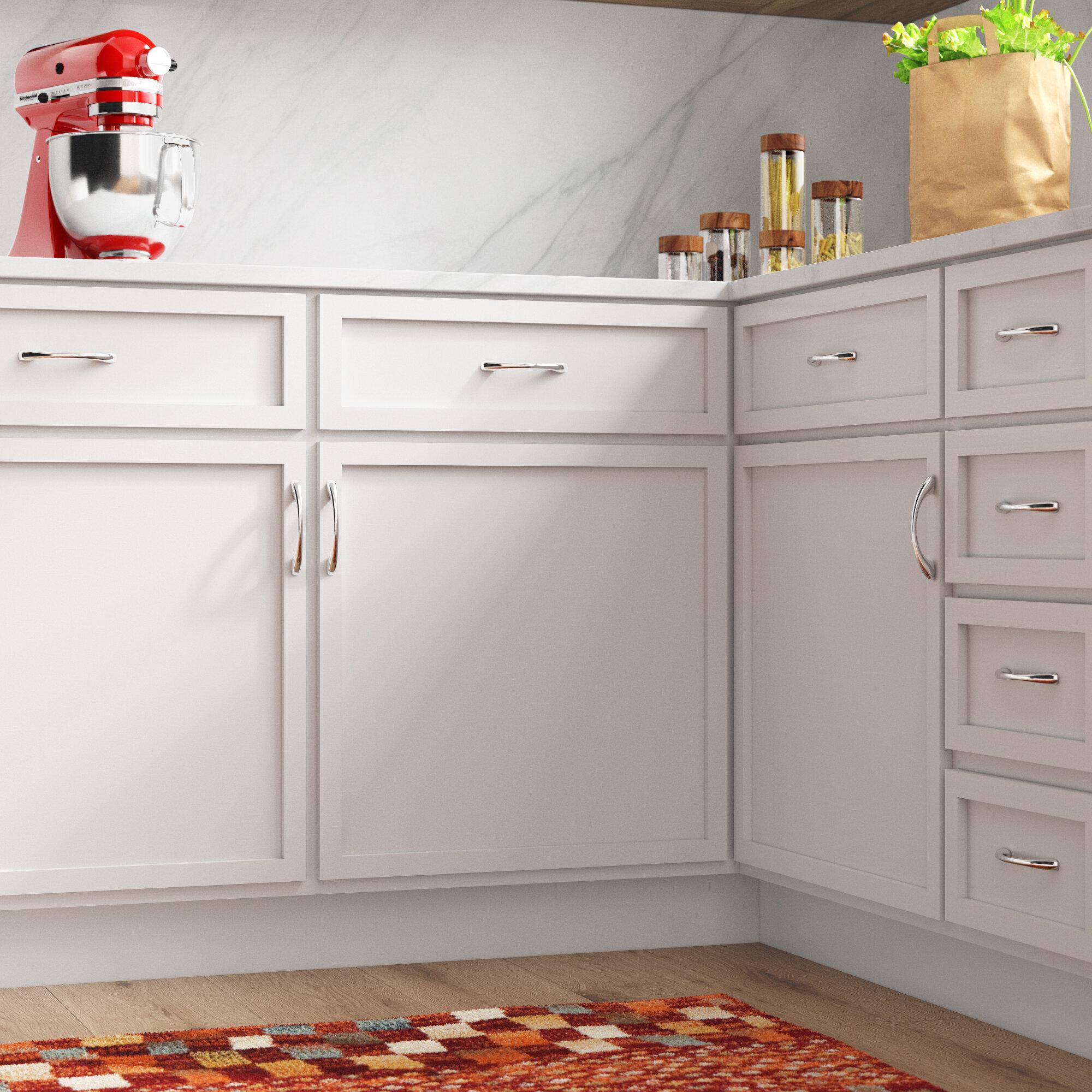 Wayfair Basics Cabinet 3 3 4 Center To Center Arch Pull Reviews Wayfair