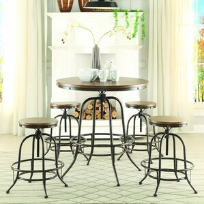 Alva Round Counter-Height Dining Table by..