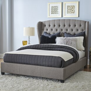 Check Prices Edgar Upholstered Panel Bed by Darby Home Co Reviews (2019) & Buyer's Guide