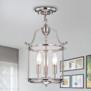 Searching for Foley 3-Light Semi Flush Mount By Darby Home Co