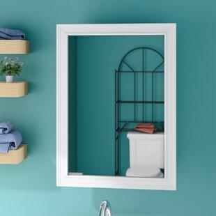 Best Price Marc 16.25 x 22.25 Recessed Framed Medicine Cabinet with 2 Adjustable Shelves ByCharlton Home