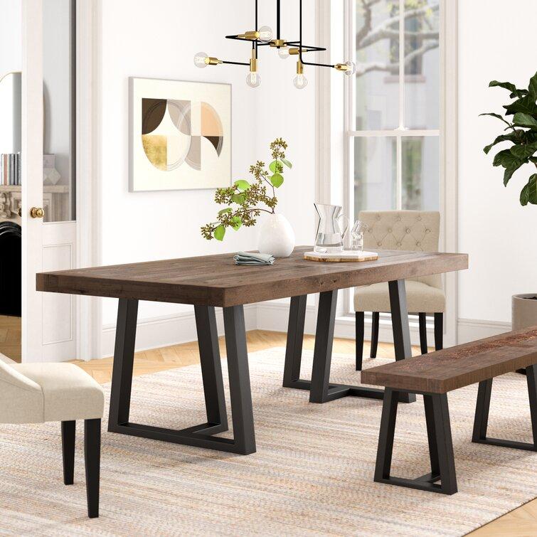 Industrial Lodge Home Abel 42 Dining Table Reviews Wayfair