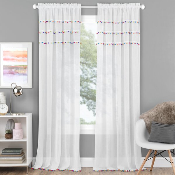 Curtains With Pom Poms