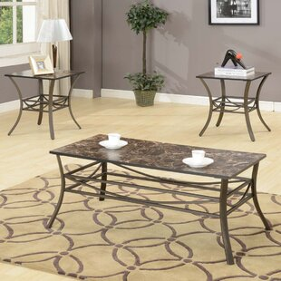 Plemmons 3 Piece Table Set Andover Mills