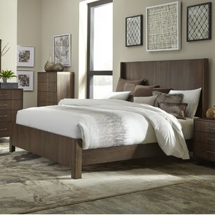 Janine Queen Panel Bed by Wrought Studio