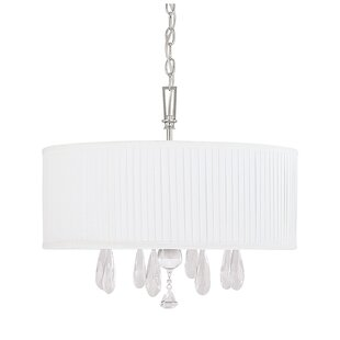 MacGraw 4-Light Chandelier by House of Hampton