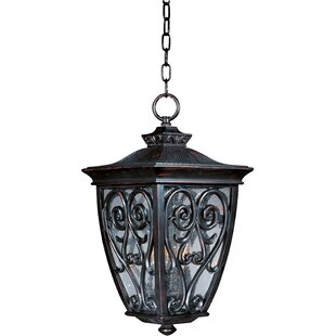 Bargain Isaacson 3-Light Outdoor Pendant By Astoria Grand