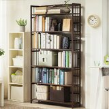 Gonsales Solid Wood Etagere Bookcase by 17 Stories
