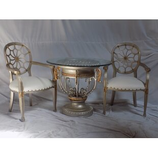 Spider 3 Piece Dining Set
