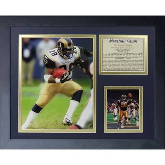 St Louis Rams Super Bowl XXXIV Limited Edition 8 x 10 Double Matted Photo